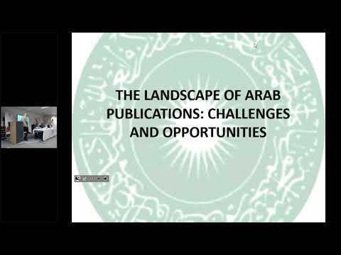 The Landscape of Arab Publications: Challenges and Opportunities