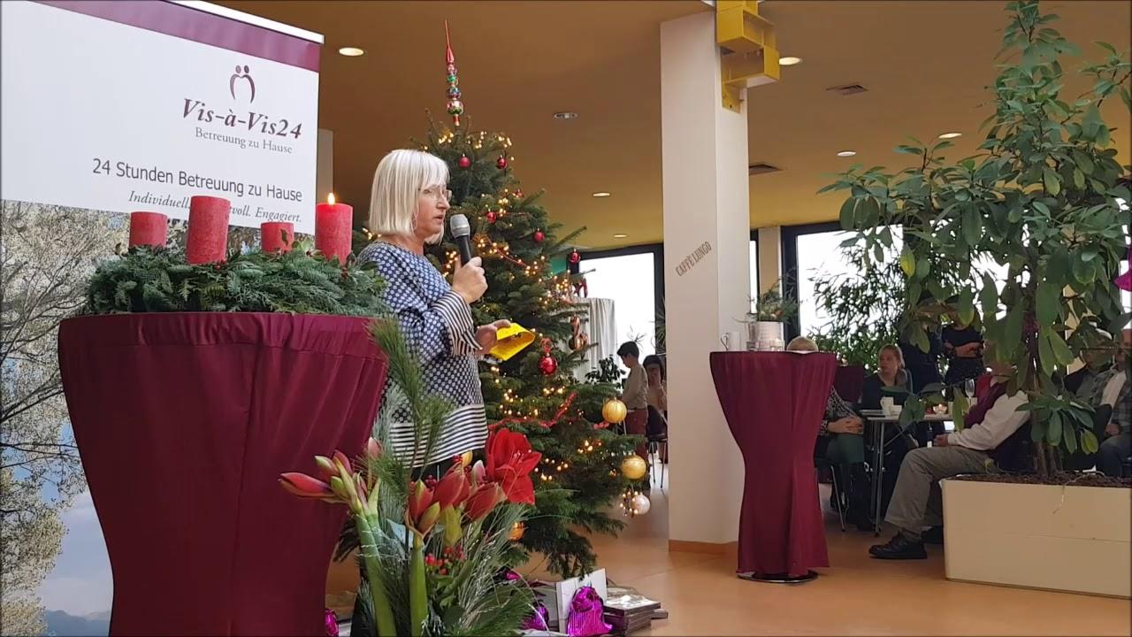 Vis-à-Vis24 Weihnachstfeier 2018 im Atriumpalast