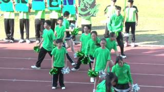 福建中學2015-2016 運動會啦啦隊 (綠社)