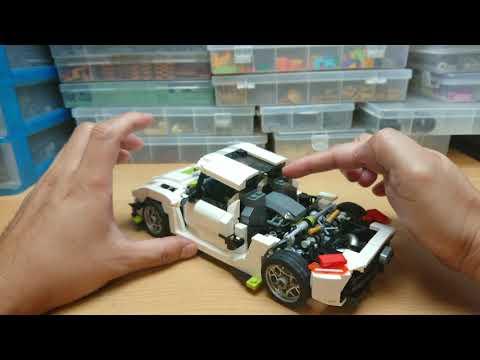 LEGO Koenigsegg Jesko (review)