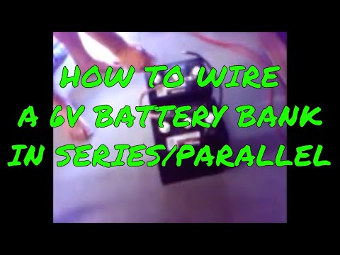 How To Hook Up Two 6 Volt Batteries In Series/Parallel - From 2008! from YouTube · Duration:  3 minutes 58 seconds