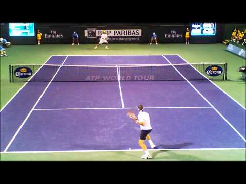 Monaco Vs Sweeting Tennis BNP Paribas 2011