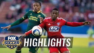 FC Dallas vs. Portland Timbers | 2015 MLS Highlights