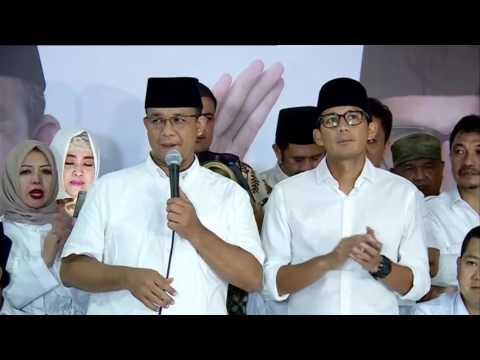 Anies: Anies-Sandi Mengabdi untuk Jakarta