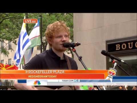 Ed Sheeran - The A Team - US Breakfast TV 12/07/13