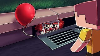 Minecraft | PENNYWISE COMES BACK TO LIFE: IT is Alive! (Stupid Place) thumbnail