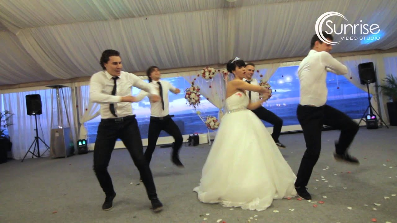 Подарок жениху на свадьбе от невесты видео