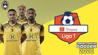 Gambar cover Download+Instal Game Bola Terbaru 2020 MOD Liga 1 Shopee DLS20 - Cupers ID
