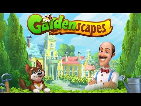 Level 413-414-415- Gardenscapes free HD game