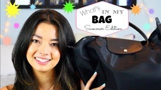 What's in my Bag: SUMMER EDITION ♡ LONGCHAMP ♡ 50VoSummer Thumbnail