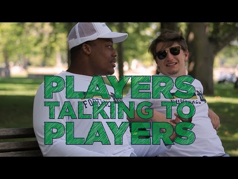 Players Talking to Players: Jesse Bongiovi and Nyles Morgan