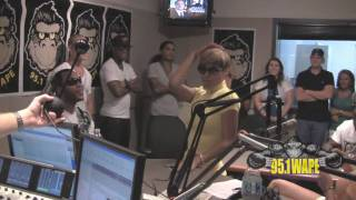 "Brianna feat. Flo Rida ""Boom Shaka Laka IMG at 95.1 WAPE with Mark Kaye & Anna"