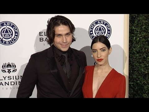 Lisa Origliasso and Logan Huffman 2017 Heaven Gala