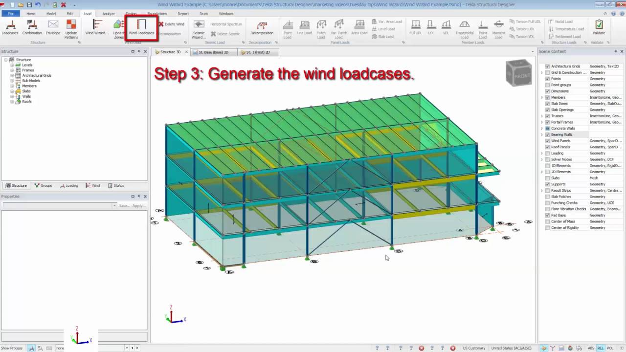 Tekla Structural Designer Getting Started | Tekla