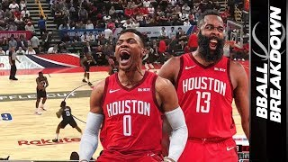Do Westbrook And Harden Work In The Rockets Offense?
