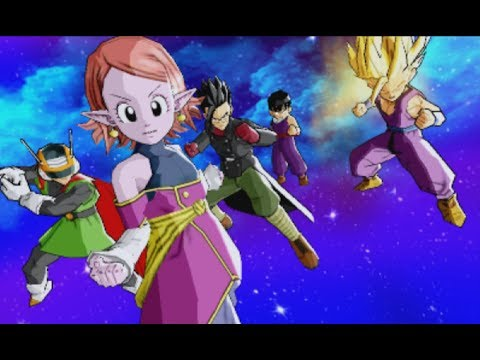 Dragon Ball Heroes Ultimate Mission X Playthrough Part 44 - The Ultimate Squad of Gohan's