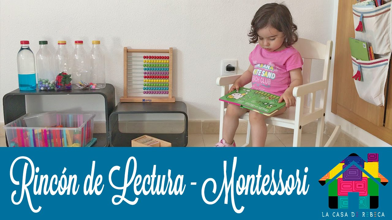 Rinc n de lectura montessori youtube for Rincon lectura