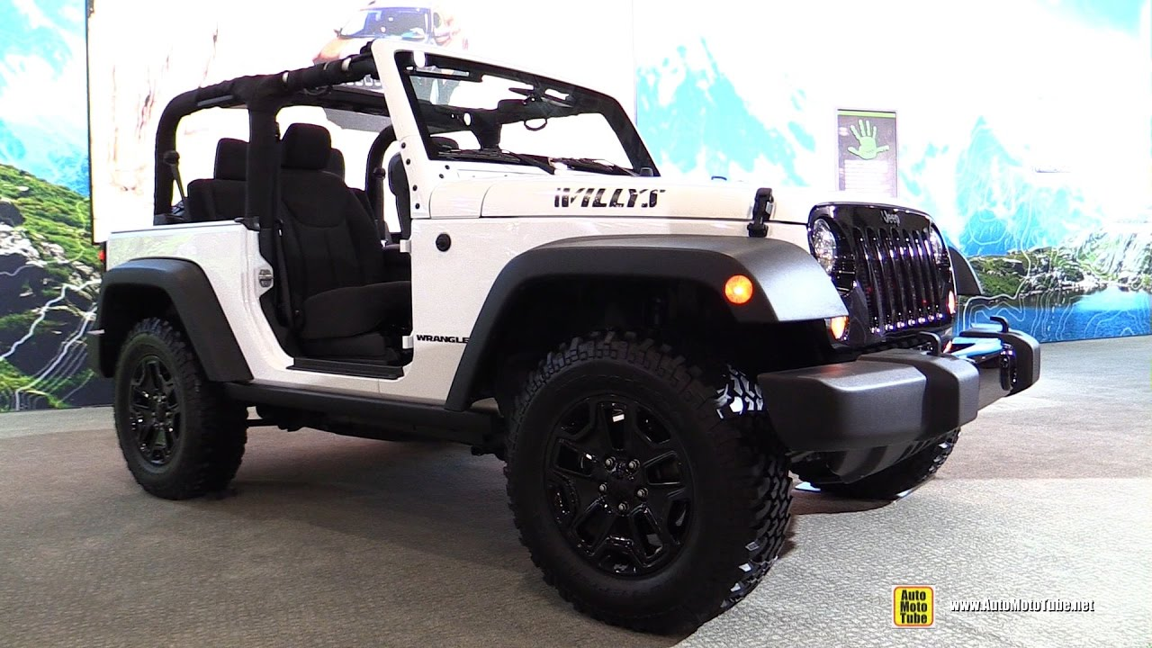 Jeep Willys Tuning >> 2017 Jeep Willys Wheeler - Exterior and Interior Walkaround - 2017 New York Auto Show - YouTube