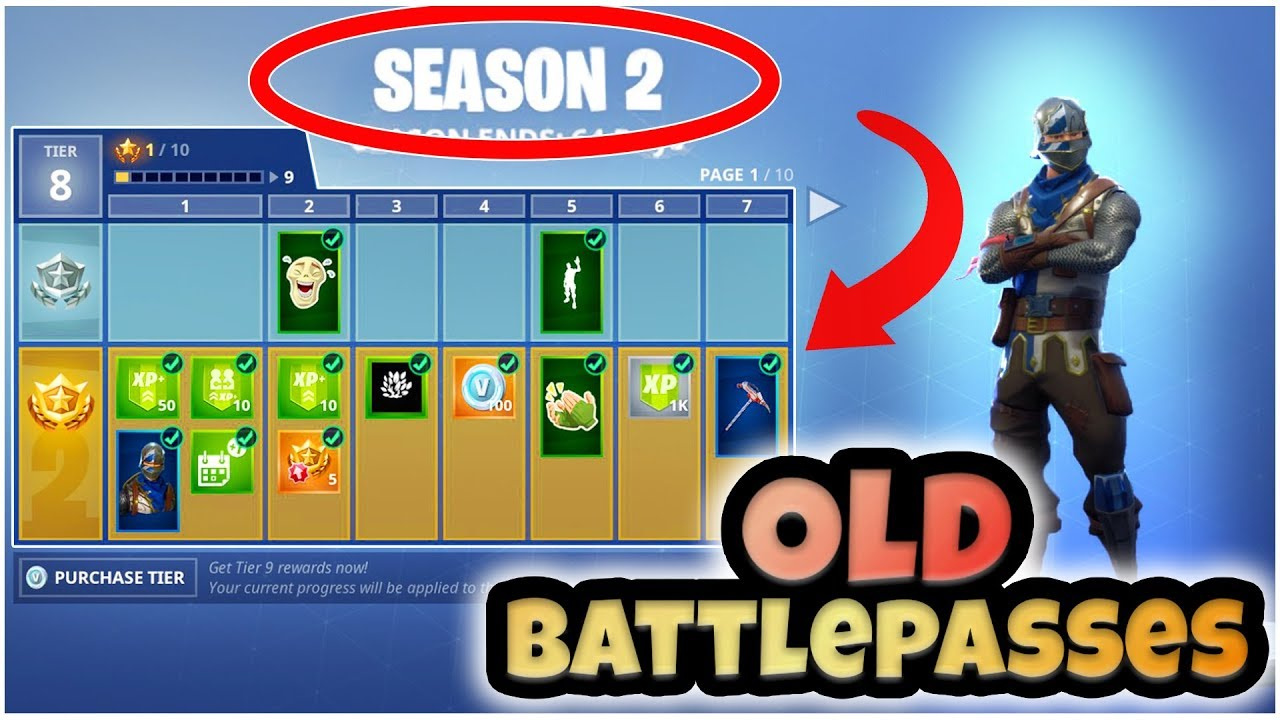 How to get back *OLD* Battle Passes! (Season 2) Fortnite Mod
