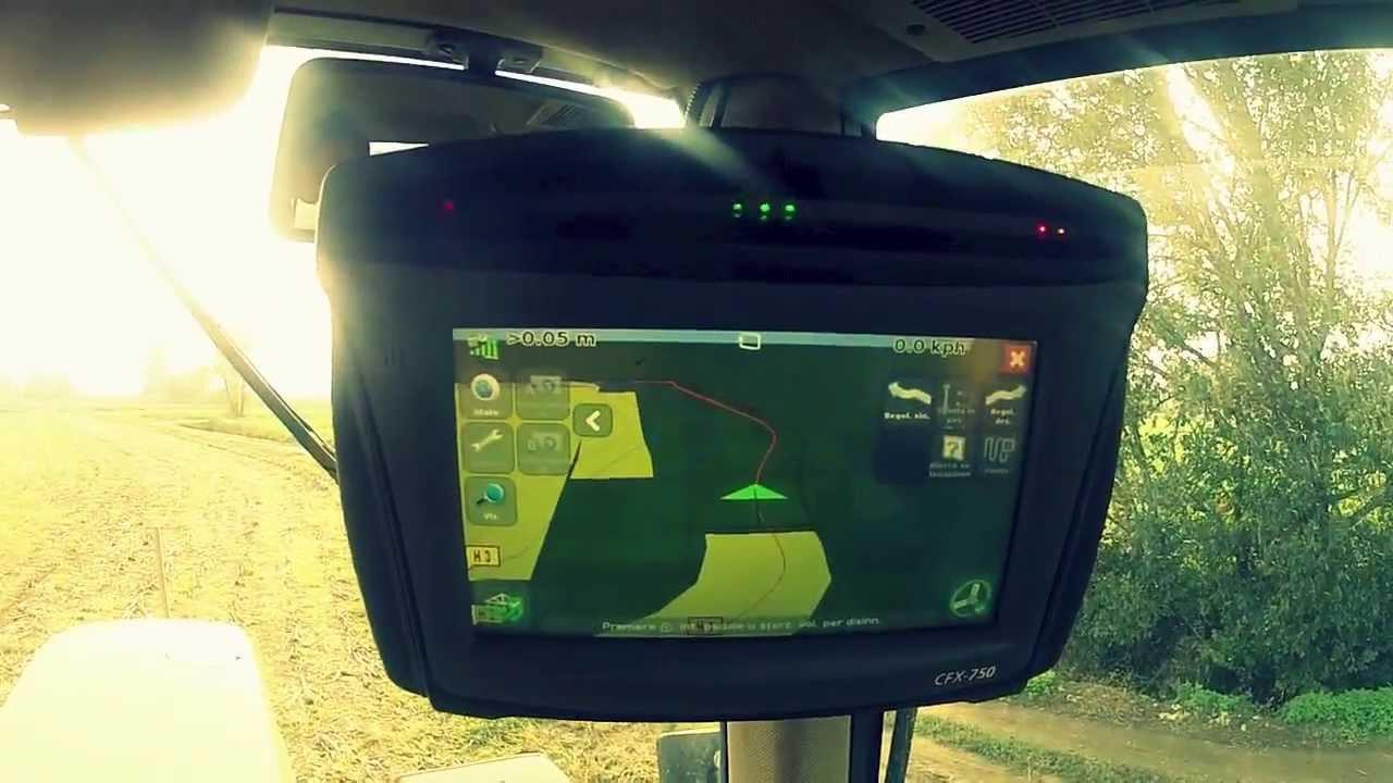 Semina su sodo con guida satellitare di precisione 2 cm for Programmi 3d free