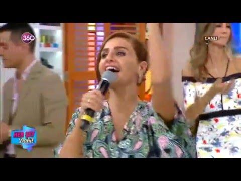 Azeri kizi Gunel, Alisan - Canli performans 2016