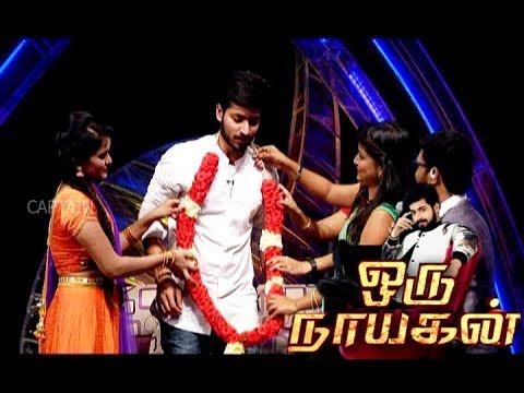 3 Anchors Try To Impress Harish Kalyan | Oru Nayagan | Diwali Special |  Captain TV