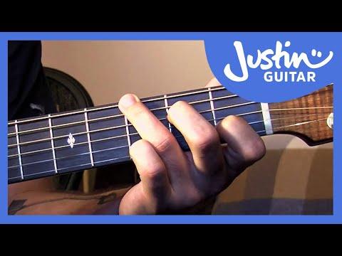 Folk Fingerstyle Patterns Part 1 Justinguitar