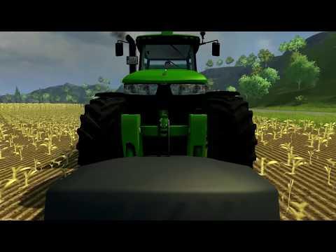 Farming Simulator 2013 - Krone Big X, Silage Gameplay