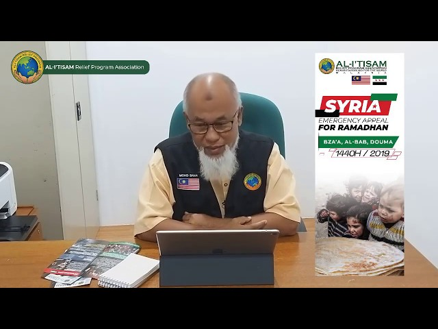 IFTAR SYRIA 2019/1440H - Rayuan Bantuan Iftar Ramadhan Save Syria Al I'tisam Relief Program
