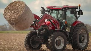 Maxxum Series Tractors with ActiveDrive 8 Transmission