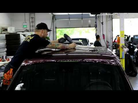 How To Jeep Trackhawk Solo Roof Wrap In Nebula Black