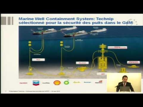 Technologies d'exploitation des ressources naturelles mises en oeuvre par le Groupe Technip