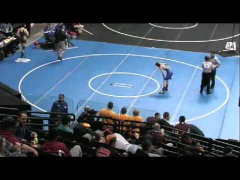 2012 CHSAA Wrestling Session 5 Mat 10