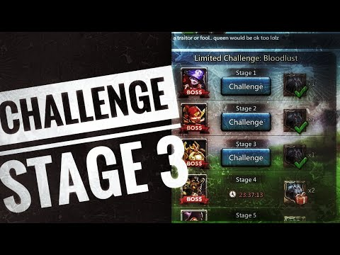 Lords Mobile - Grim Wolf Limited Challenge Stage 3