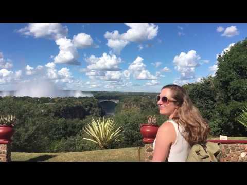 VLOG 4: HWANGE & VICTORIA FALLS: on safari, holding a crocodile and zipline jump!