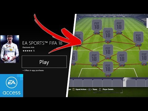 HOW TO GET THE FIFA 18 EARLY ACCESS!