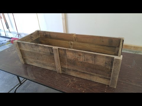 pallet-wood-planter-box