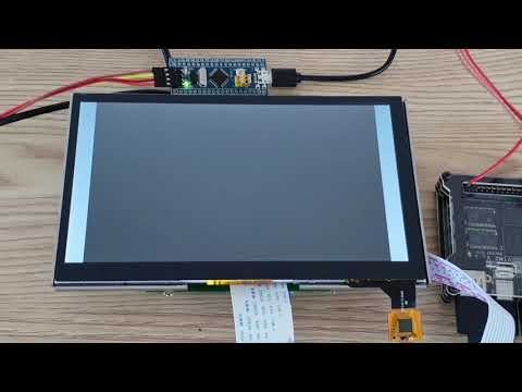 STM32F103(bluepill Board) USB HID Touch Test
