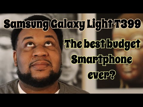 Samsung Galaxy Light T399   Box Opening U0026 Quick Look 1.4 GHZ Quad Core  Phone T Mobile