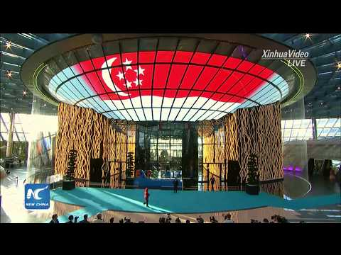 President Xi Jinping attends Expo 2017 Astana opening ceremony