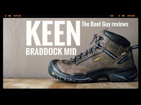 KEEN BRADDOCK MID AL WP STEEL TOE # 1012771 [ The Boot Guy Reviews ]