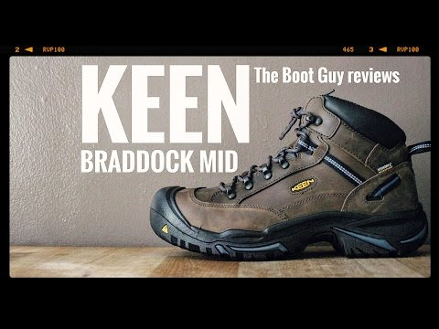 KEEN BRADDOCK MID AL WP STEEL TOE # 1012771 [ The Boot Guy Reviews ]