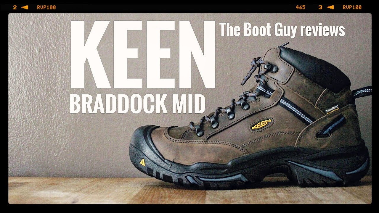 4adbd27dcd3 KEEN BRADDOCK MID AL WP STEEL TOE # 1012771 [ The Boot Guy Reviews ]