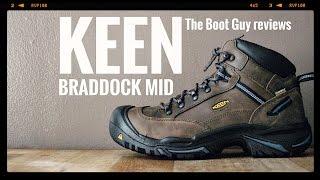 Gambar cover KEEN BRADDOCK MID AL WP STEEL TOE # 1012771 [ The Boot Guy Reviews ]