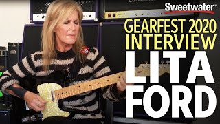 Lita Ford Interview — GearFest 2020