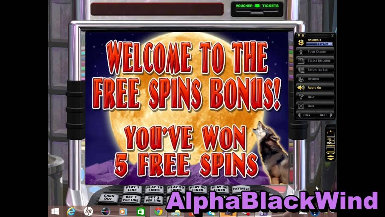 Au slots free spins