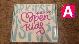 Распаковка коробки Опен Кидс (Open kids)   OK box
