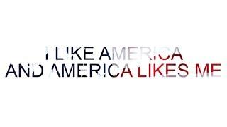 The 1975 - I Like America and America Likes Me (Lyric Video)