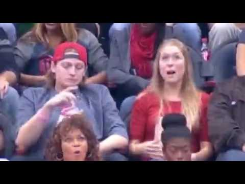 Girl friend revenge facial video