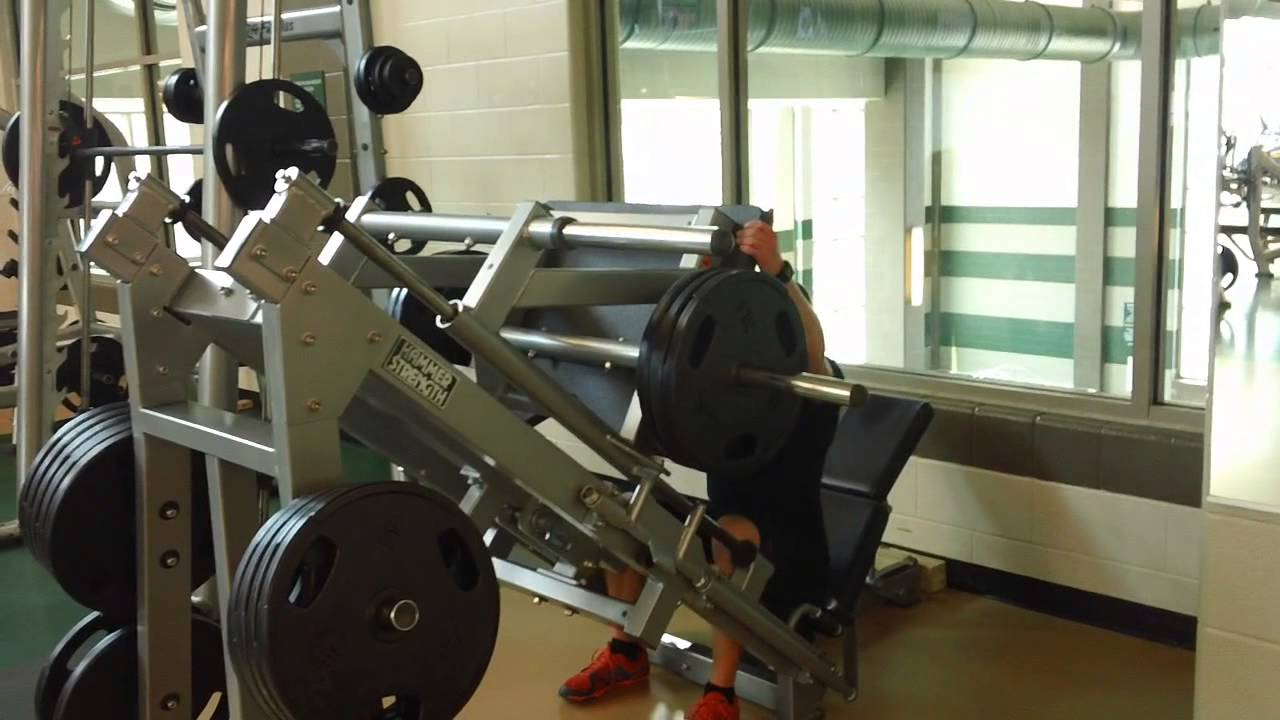 Hammer Strength Linear Leg Press